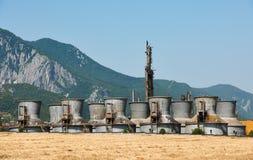 Старый химический завод Стоковые Фото