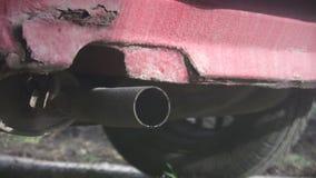 Старый ход автомобиля видеоматериал
