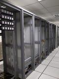 Старый центр данных кладет компановку на полку Стоковая Фотография