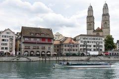 Старый центр города Цюриха Стоковое фото RF