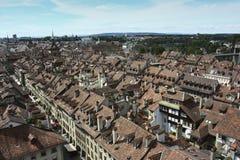 Старый центр города Bern, Швейцарии Стоковая Фотография RF