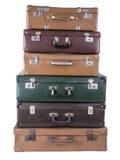 Старый чемодан Стоковые Изображения RF