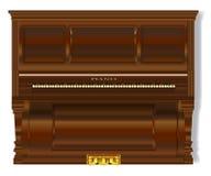 Старый чистосердечный рояль иллюстрация штока