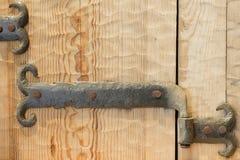 Старый шарнир двери стоковые изображения rf