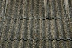 Старый шифер на крыше серого цвета Стоковая Фотография RF