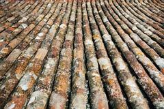 Старый шифер от крыши стоковое изображение