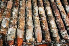 Старый шифер от крыши стоковая фотография rf