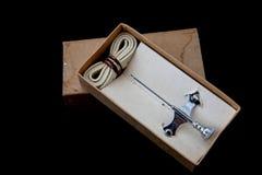 Старый шприц Стоковая Фотография