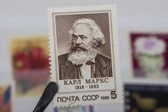 Старый штемпель СССР Стоковые Изображения RF