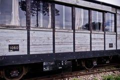 Старый экипаж поезда Стоковая Фотография RF