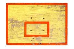 Старый экран без колец для баскетбола стоковая фотография