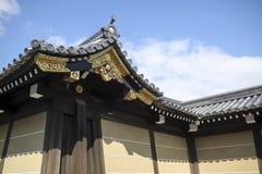Старый японский замок Стоковые Изображения