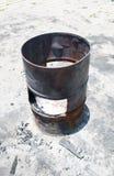 Старый ящик масла Стоковые Изображения
