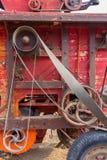 Старый baler соломы стоковые фото
