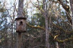 Старый birdhouse Стоковые Фото