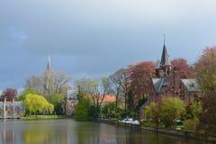 Старый Brugge Стоковое Фото