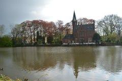 Старый Brugge Стоковые Изображения