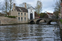 Старый Brugge Стоковые Фотографии RF