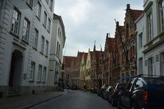 Старый Brugge Стоковые Изображения RF