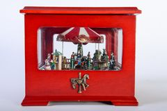 Старый Carousel игрушки Стоковое Фото