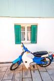 Старый coloful фасад Стоковое Изображение