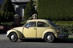 Старый coupe Фольксвагена Стоковое Изображение