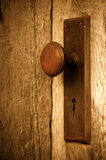 Старый doorknob Стоковая Фотография RF