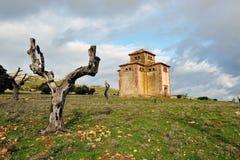 Старый dovecote в руинах, устойчивое сельское хозяйство птицы Стоковые Фото