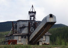 Старый dredge на дисплее Стоковая Фотография RF