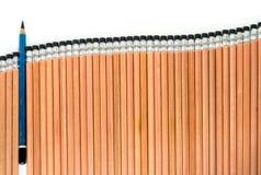 Старый EE рисует в группе в составе тип 2B карандаш вида аккуратный новый Стоковое фото RF
