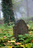 Старый Gravestone Стоковое Изображение RF