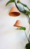 Старый handmade колокол глины Стоковое Изображение RF