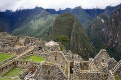 Старый Incan город Machu Picchu, Перу Стоковая Фотография RF