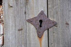 Старый keyhole metall Стоковые Фотографии RF
