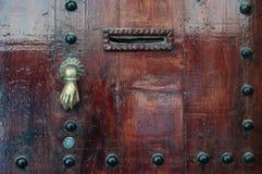 Старый knocker стоковые фотографии rf
