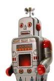 Старый mecanical взгляд frontal робота Стоковое Изображение
