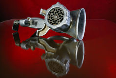 Старый mincer Стоковое Изображение RF
