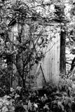 старый outhouse Стоковое фото RF