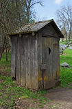 старый outhouse Стоковые Фотографии RF