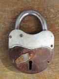 старый padlock ржавый стоковые фото