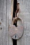 старый padlock Стоковая Фотография