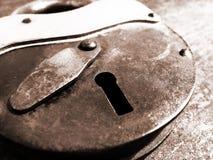 старый padlock стоковые фотографии rf