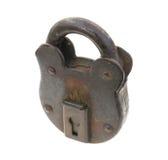старый padlock Стоковые Фото