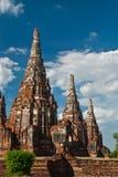 старый pagoda Таиланд Стоковые Фото