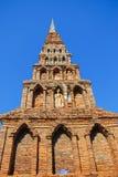 старый pagoda Таиланд Стоковое Изображение RF