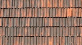 Старый pantile плитки для крыши стоковая фотография