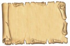 старый papyrus Стоковое Фото