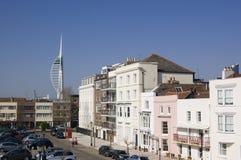 Старый Portsmouth, Хемпшир Стоковое Изображение RF