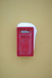 старый postbox Стоковые Изображения