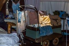 Старый pram Стоковая Фотография RF